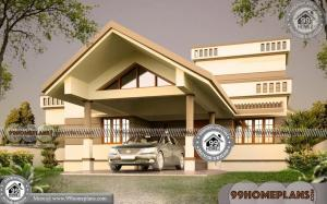 One Story with Loft House Plans | 250+ Kerala Home Design And Plans