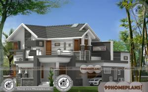 Plans of Modern Houses 80+ Latest Double Storey Homes Plans Online