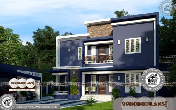 Simple Cheap House Plans | 70+ Narrow Double Story House Plans