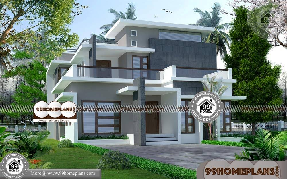 Simple House Designs Indian Style 80+ 2 Storey House ...