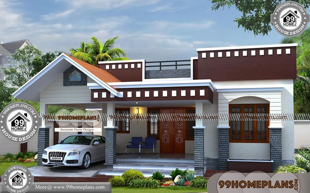 Simple one story house designs 90 south indian house for Design your house