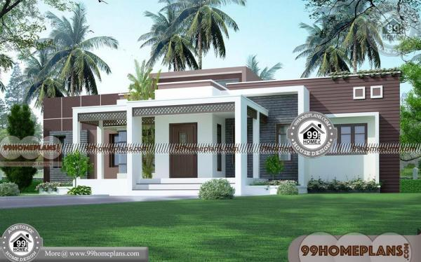 Single Bungalow House Design 90 Contemporary In Kerala