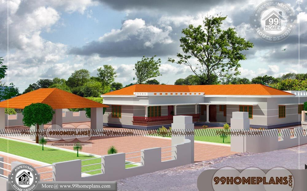Single Floor Home Plans | 100+ Modern House Floor Plans & Collections