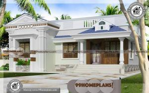 Single Story House Plans | Best Small Dream Home Designs