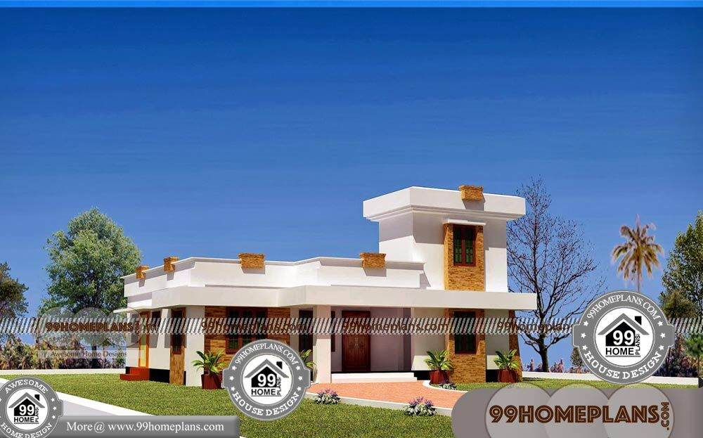 Single Floor House With Simple Indian Home Design Photos Collections