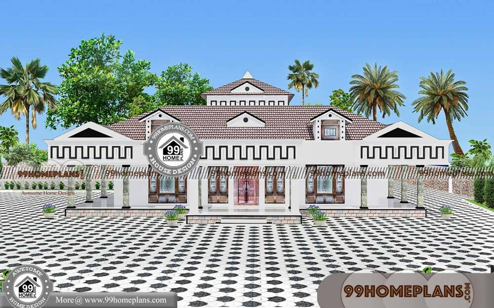 Single Home Floor Plans & 80+ Simple Residential House Plans Collection