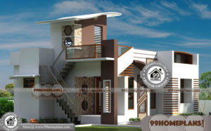 Single Storey Modern House Design 70+ Narrow One Story House Plans