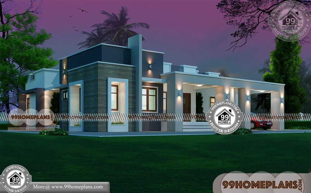 Single Story House Elevation 90 Small Ultra Modern
