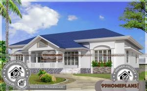 Single Story House Plans for Narrow Lots & Traditional Kerala Homes
