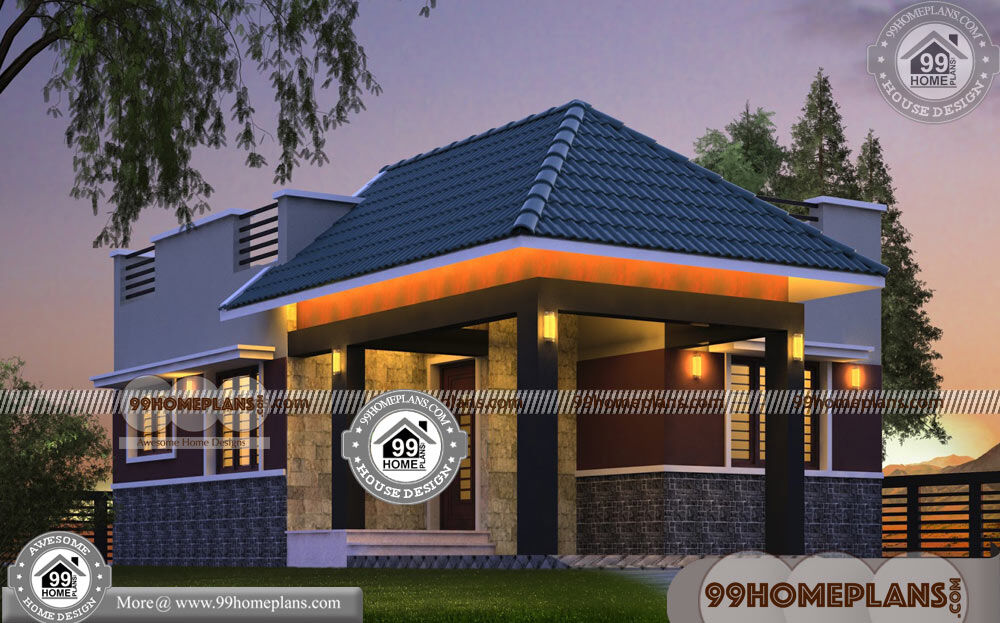 Small 2 Bedroom House Plans 70+ Modern Unique House Designs Online