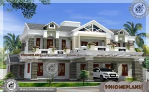 Small Budget Home Plans Design 60+ Two Storey House Plans Collection