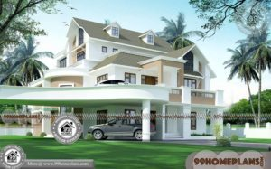 Small Indian Home Design & 90+ Modern Double Story House Designs