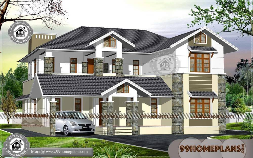 South Indian Home Designs and Plans 90+ Two Storey Home Plans
