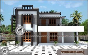 South Indian House Elevation 50+ Latest Two Storey House Design Plans