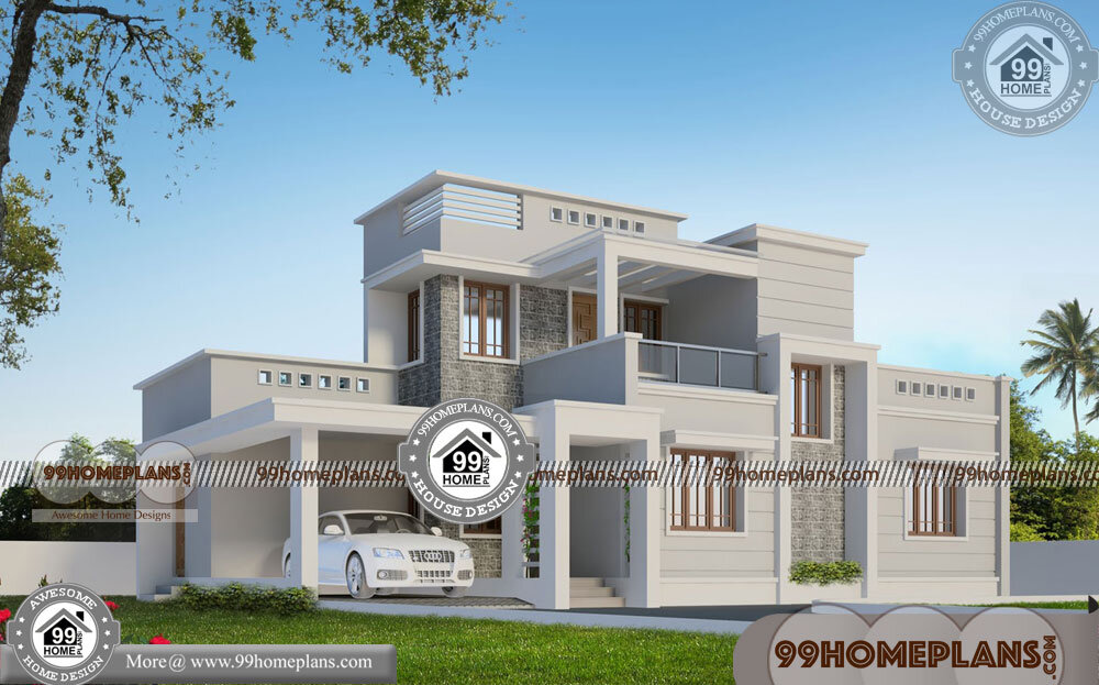 Two Storey House Plans for Narrow Lots | 95+ Small Budget House Plans