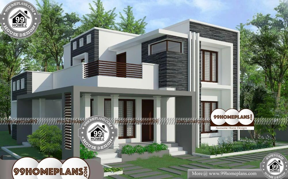 2 Story House Plans for Narrow Lots - 2 Story 2800 sqft-Home