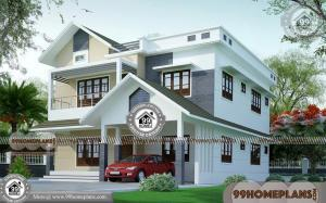 2 Storey Modern House Plans 50+ Kerala Traditional Home Collections