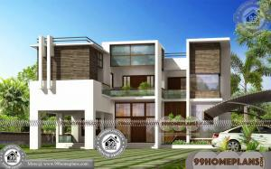 2 Storey Small House Plans 90+ Beautiful Home Plans & Exterior Designs