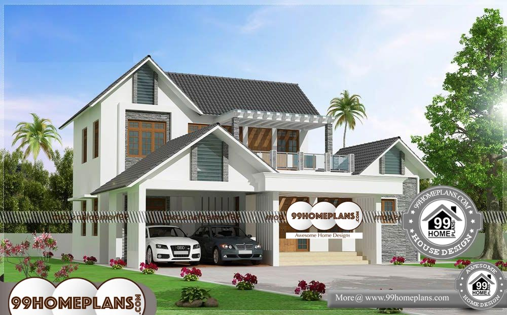 3 Bedroom House Plans Indian Style 70 Cheap Two Storey Homes Free
