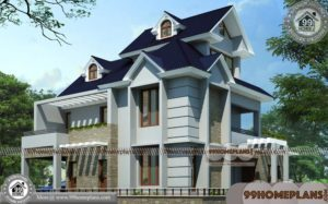 3 Bedroom Contemporary House Plans | 90+ 2 Storey House Design Plans
