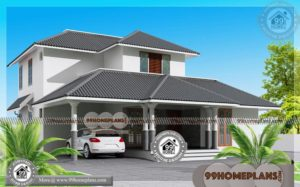 3 Bedroom Home Plans with 2 Storey Modern House Design Collections