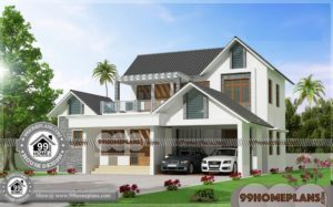 3 Bedroom House Plans Indian Style 70+ Cheap Two Storey Homes Free