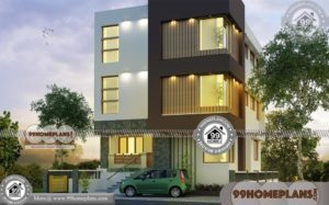 3 Story Contemporary House Plans 70+ Kerala Modern Home Designs