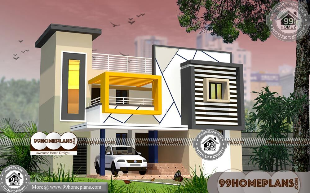 4 Bedroom Narrow Lot House Plans 70+ Double Storey Designs Online