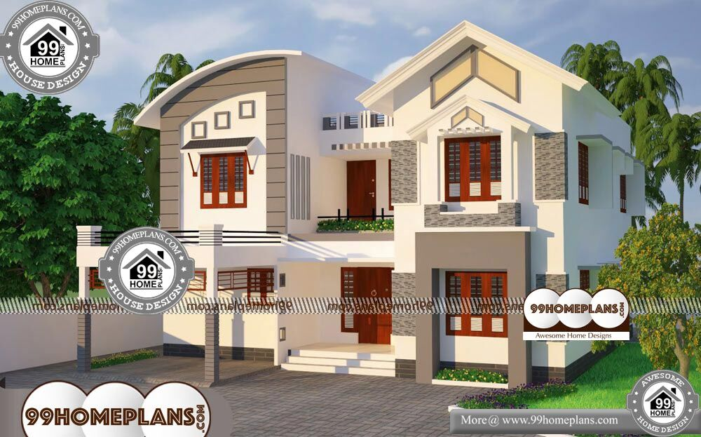 50 X 100 House Plans - 2 Story 2624 sqft-Home