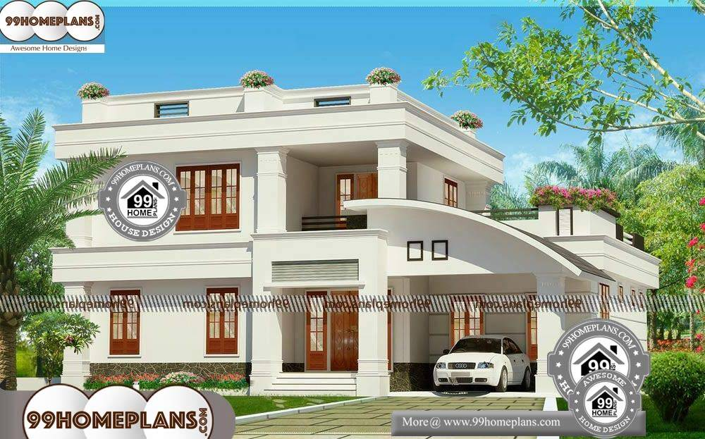 Architectural Design Plans for Houses - 2 Story 2800 sqft-HOME