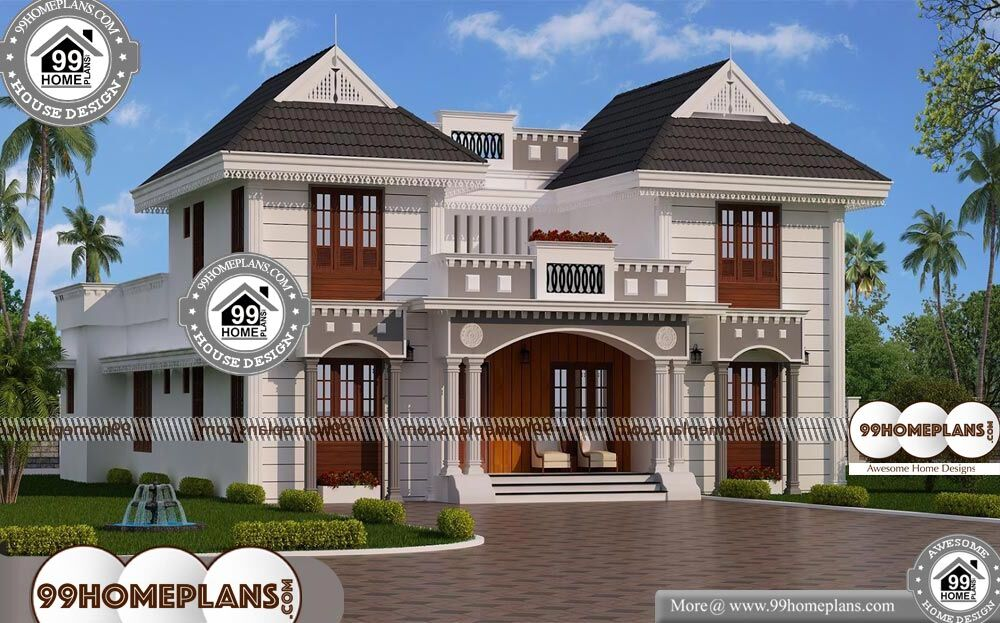 Architecture House Design - 2 Story 3700 sqft-Home