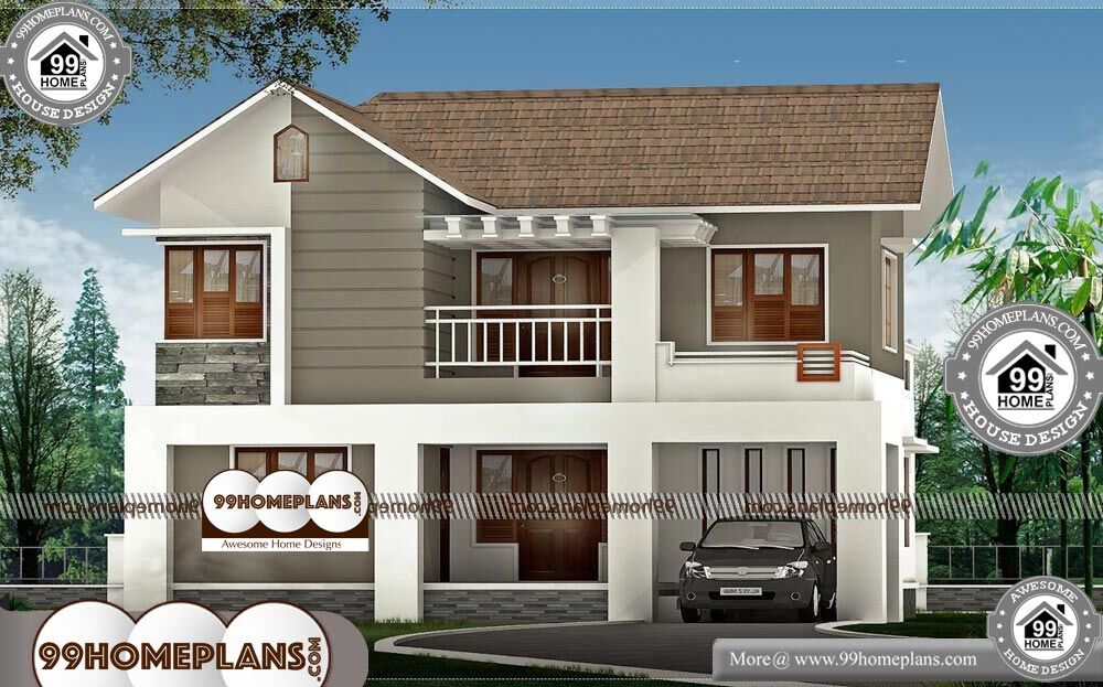 Best Architecture Houses - 2 Story 1829 sqft-HOME