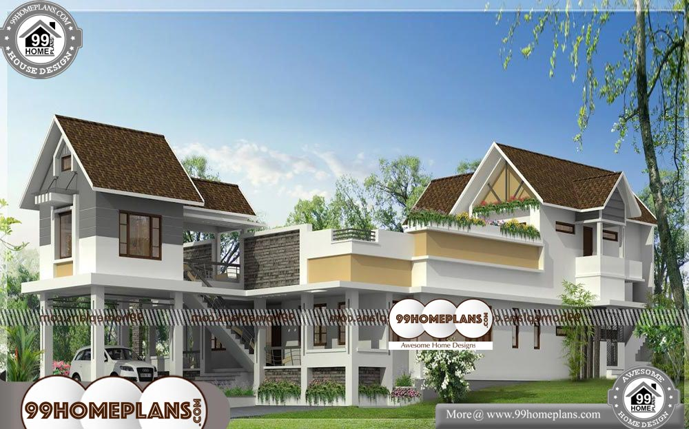 Best Home Designs in Kerala - 2 Story 4650 sqft-HOME