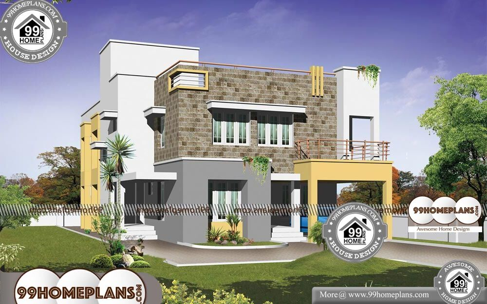 Best Small Modern House Designs - 2 Story 4500 sqft-Home