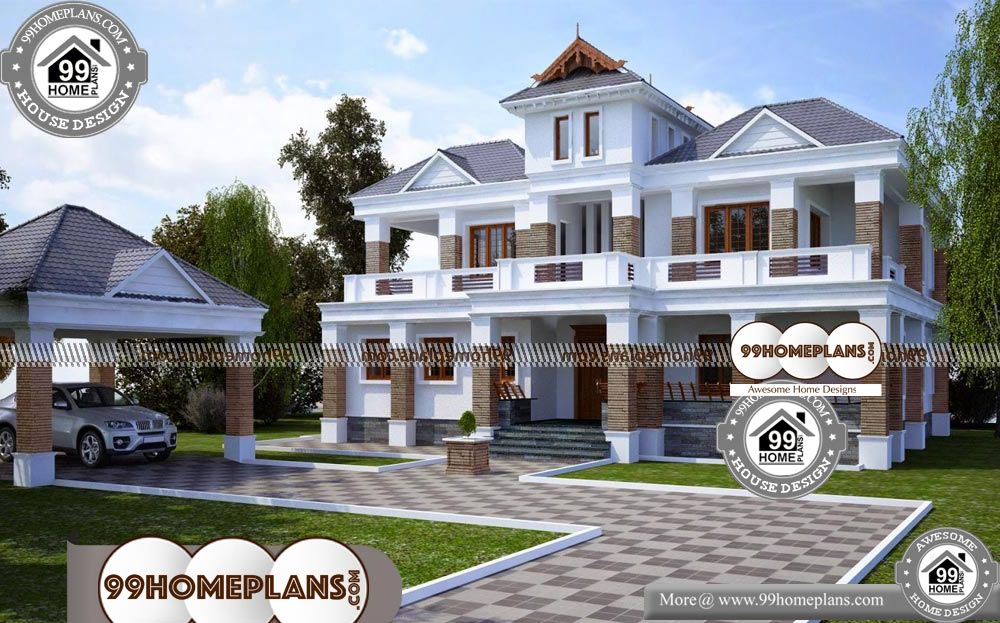 Best Two Story House Plans - 2 Story 3051 sqft-HOME