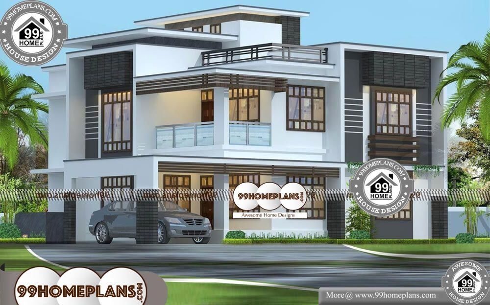 Contemporary Small House Designs | 90+ Latest Modern Houses 2 Floor