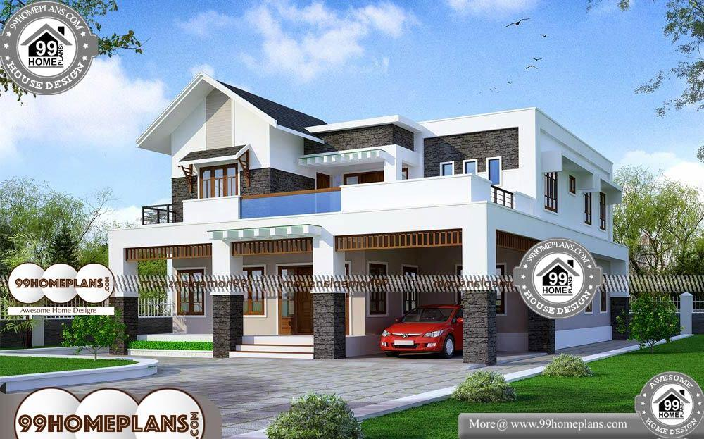 Design Small House Plans - 2 Story 2585 sqft-HOME