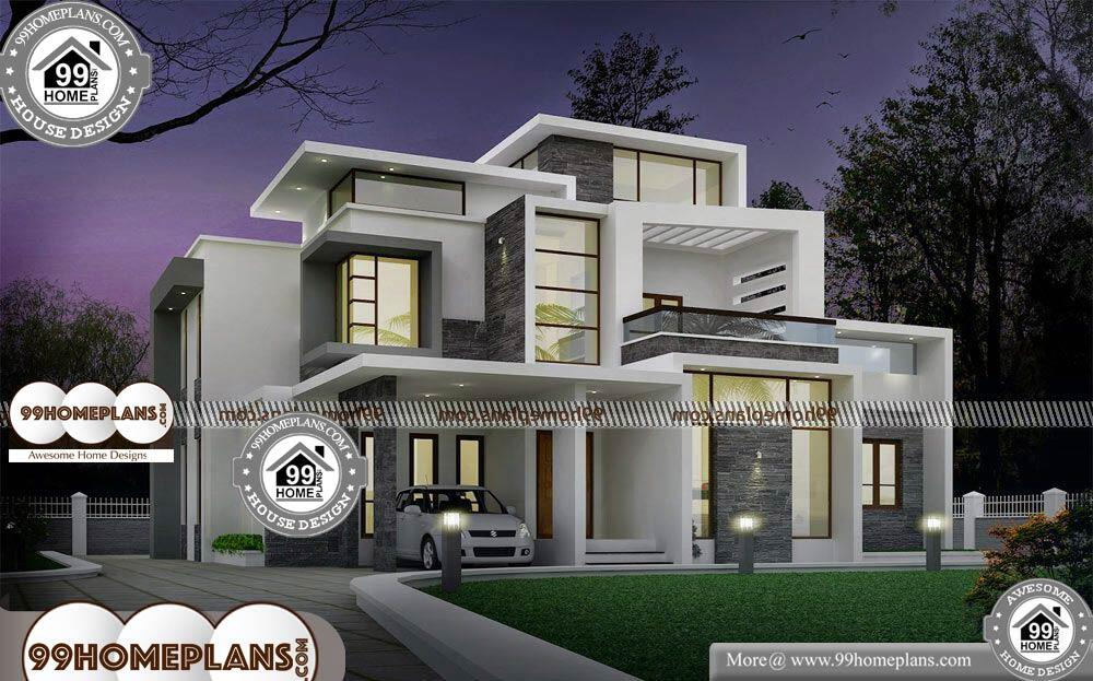 Design of Small House Plans - 2 Story 2100 sqft-Home