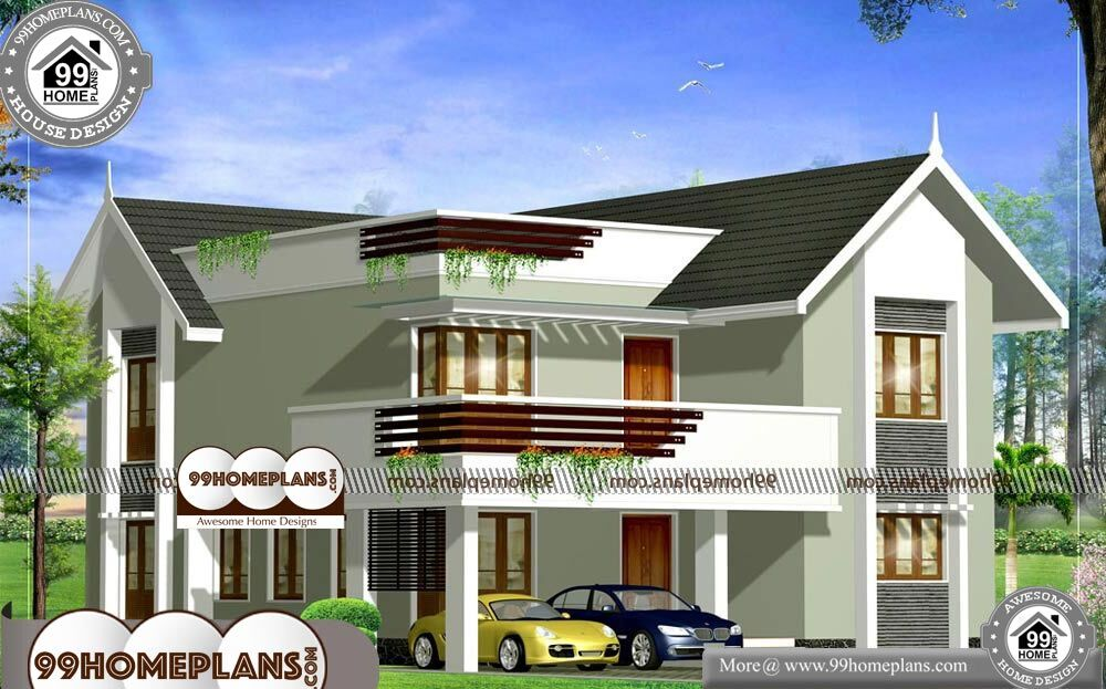 Economic House Design - 2 Story 2379 sqft-Home