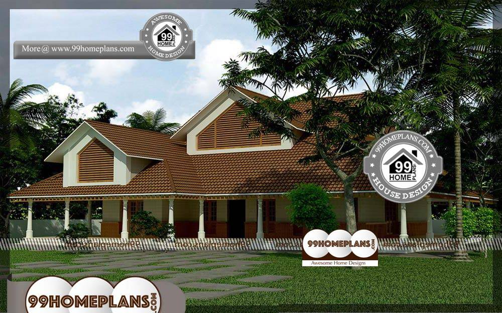Economical Small House Plans - 2 Story 3800 sqft-Home