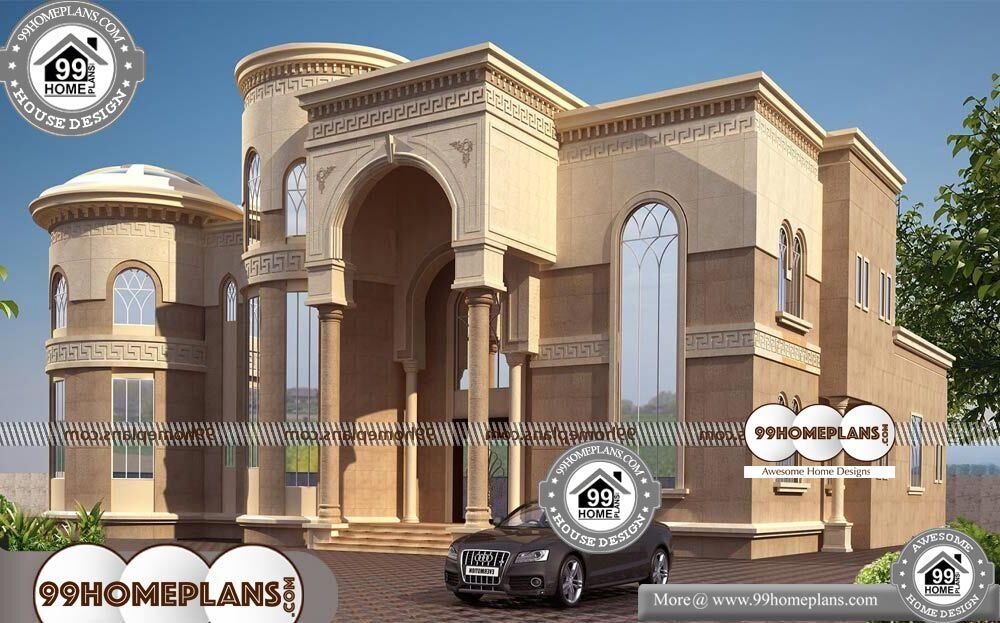 Four Bedroom Bungalow Design - 2 Story 3501 sqft-Home