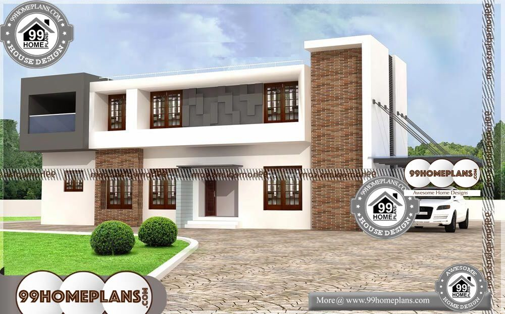 Four Bedroom Home Plans - 2 Story 2112 sqft-Home