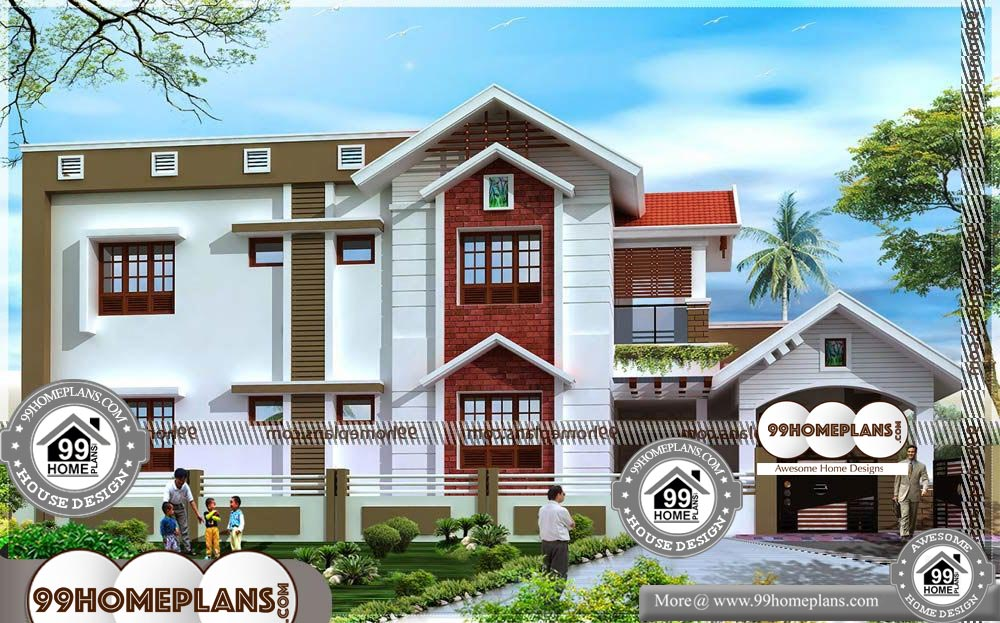 Home Plans Two Story - 2 Story 2401 sqft-Home