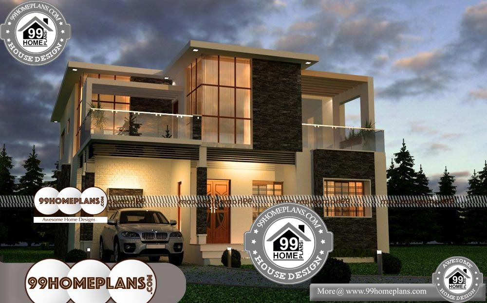 Indian Home Exterior Design 60 Two Storey House With Terrace Online