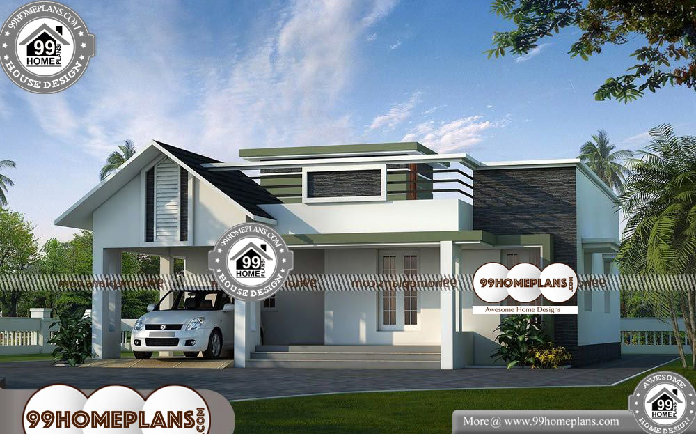 Indian Single Floor House Models 70 Contemporary Style Home