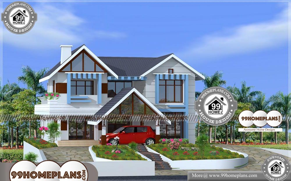 Kerala New House Plans Photos - 2 Story 2481 sqft-HOME
