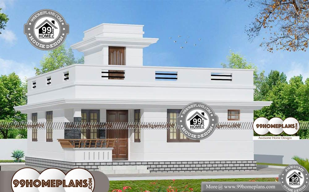 Modern House Designs Single Floor - One Story 882 sqft - Home
