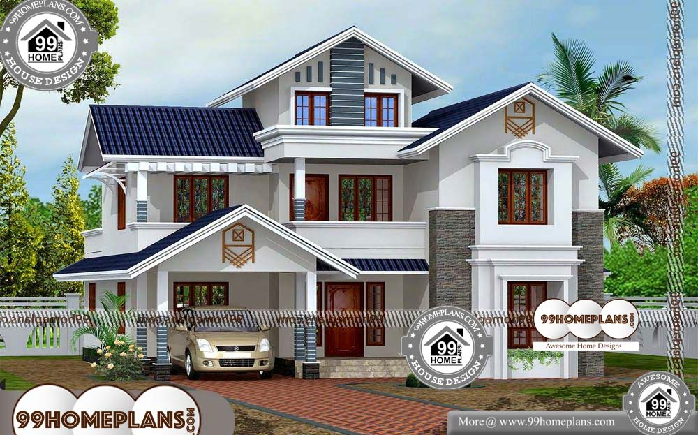 Modern House Designs In India 60+ Small Two Story House Floor Plans