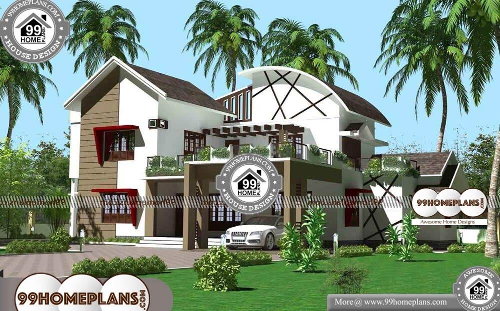 Modern Residential House Design - 2 Story 4110 sqft-Home
