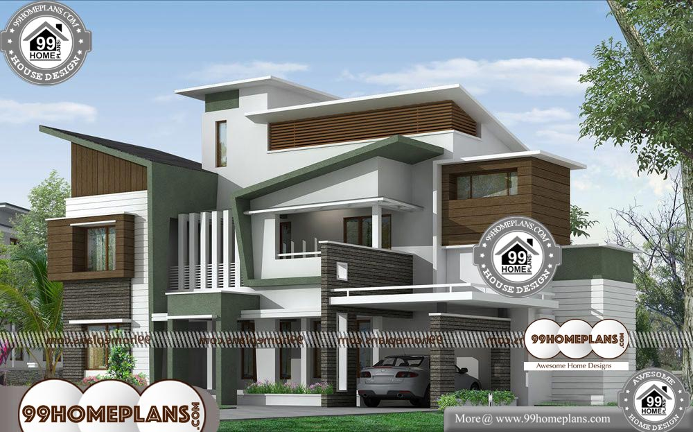 Modern Simple House Design 60+ Two Story House With ...